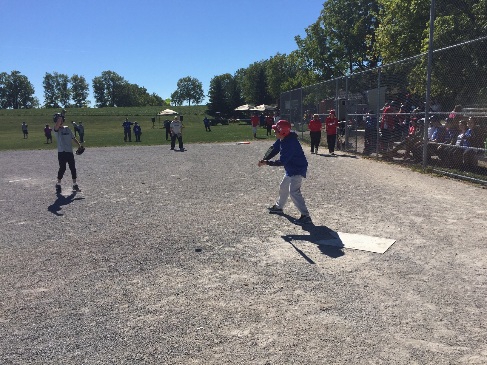 Baseball Tournament Batter Swing!